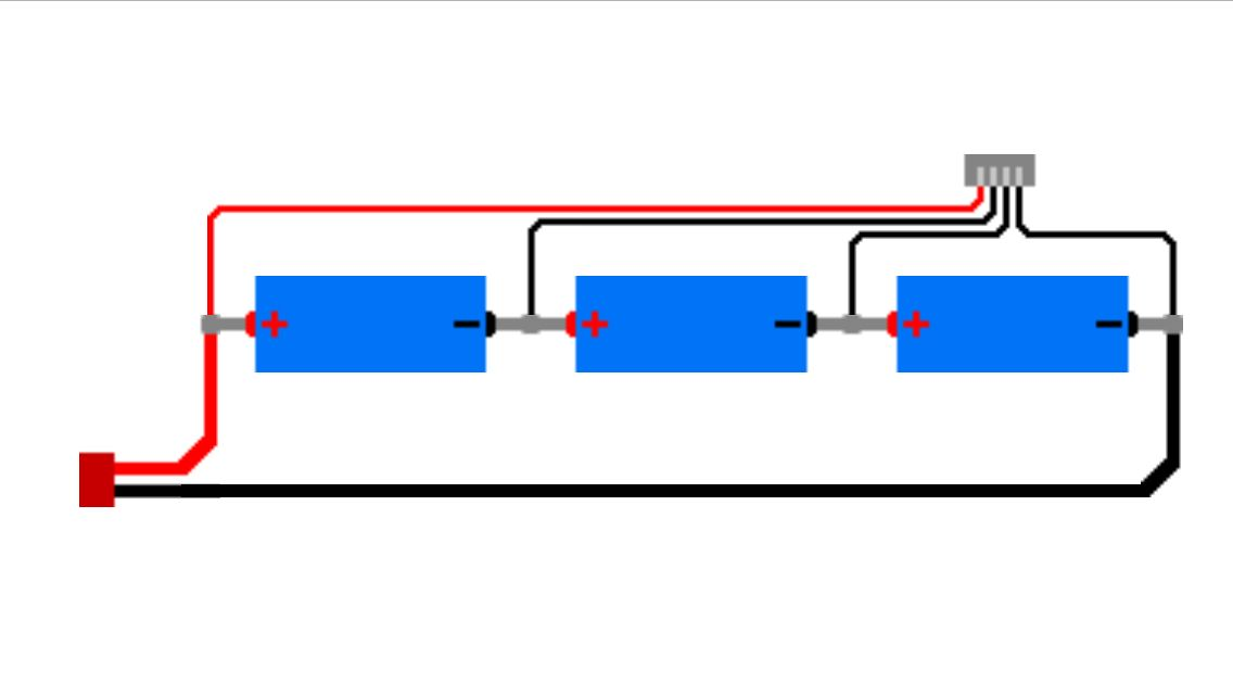 wiring diagram for connecting a balance charger to a 3s lipo wiring diagram for connecting a balance charger to a 3s lipo battery array 3 3 7