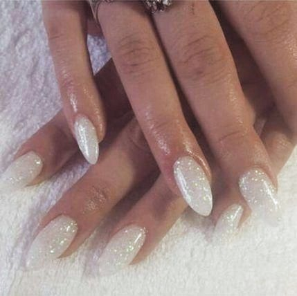 62 ideas nails almond sparkle simple you are in the right