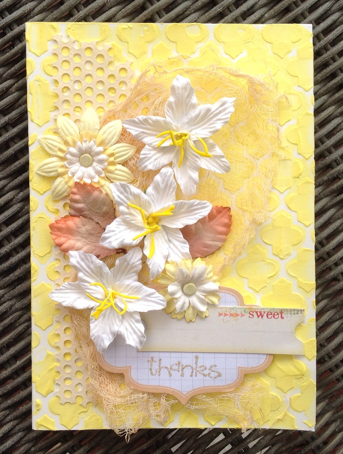 Greeting Card - Bright and happy