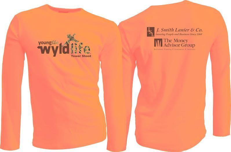 Camo Wyldlife shirt for Towershoot