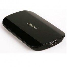 Huawei E510 HSPA 3G Modem with a DVB-T Mobile TV tuner - Black