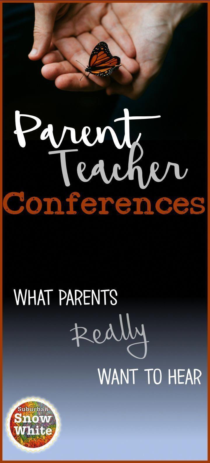 What parents really want hear parent teacher conferences