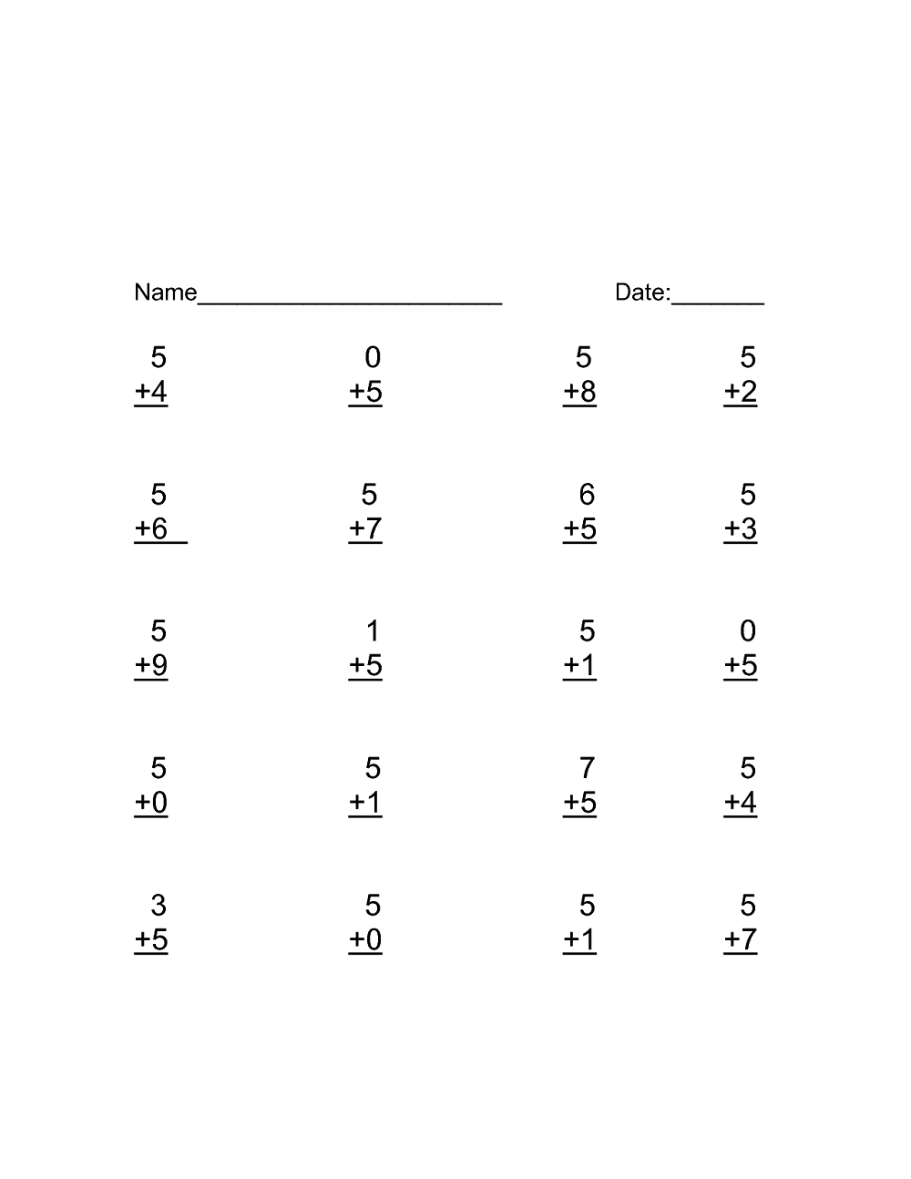 Addition Worksheets For Kindergarten 2019 Kindergarten Addition Worksheets Kindergarten Worksheets Basic Addition Worksheets [ 1294 x 1000 Pixel ]