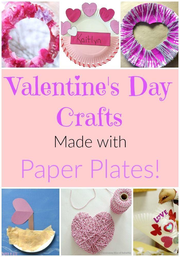 Paper Plate Valentine Crafts for Preschoolers | Valentine crafts ...