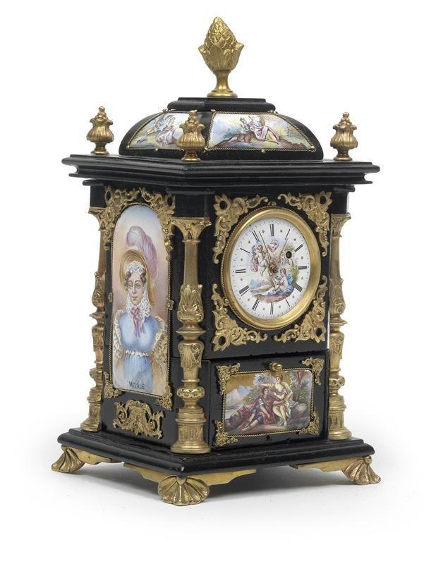 Reloj de mesa relojes de mesa pinterest reloj mesas - Relojes antiguos de mesa ...