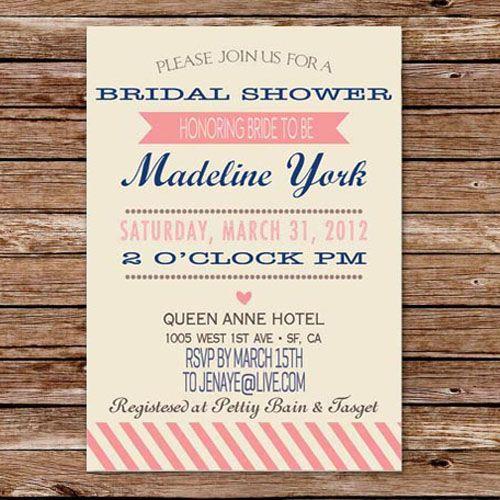 cheap bridal shower invitations - Vintage Wedding Shower Invitations