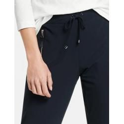 Photo of Gerry Weber Schlank geschnittene Hose Joggingstyle Blau Damen Gerry WeberGerry Weber