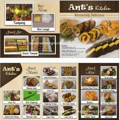 Contoh Brosur Makanan Kue Patisserie Contoh Iklan Produk Dan Jasa