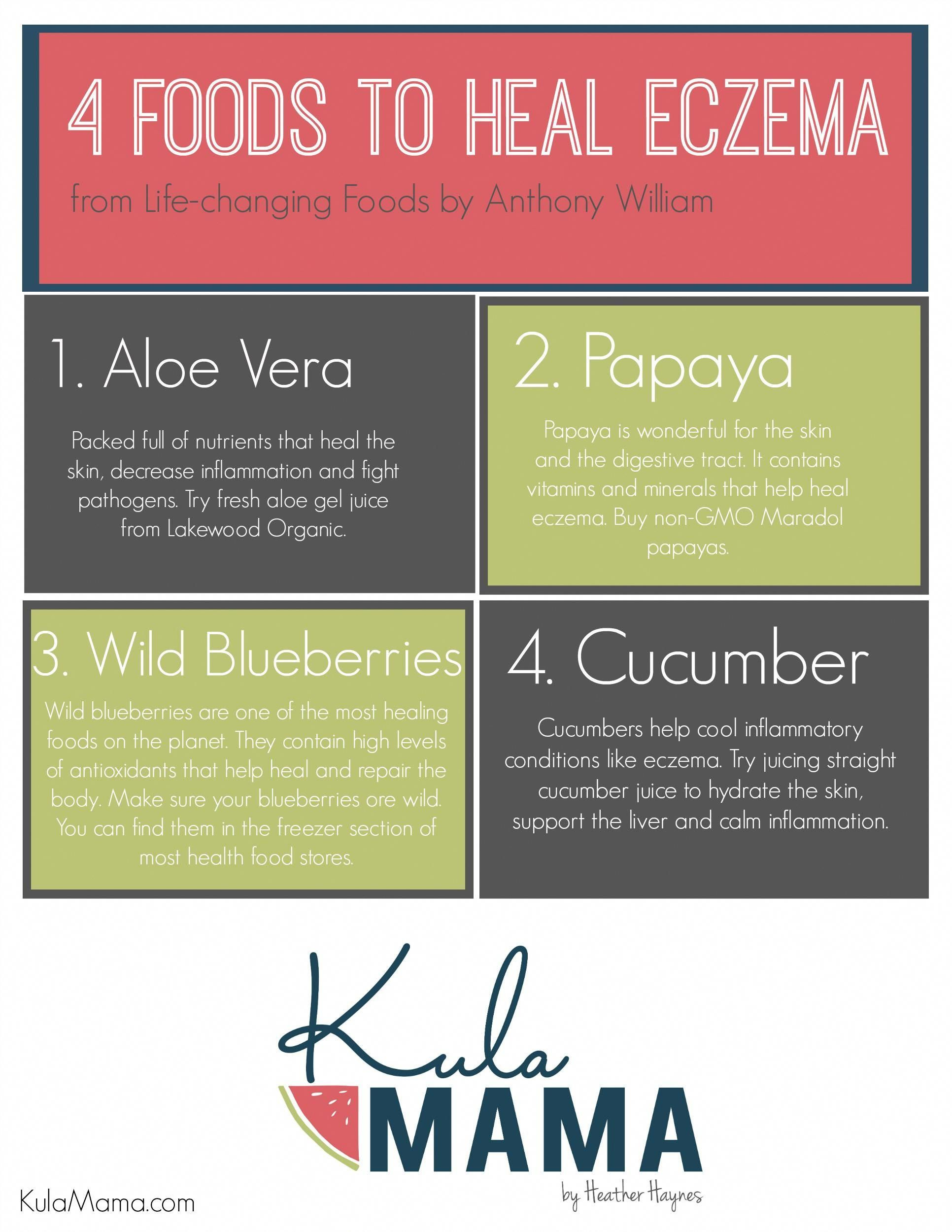 Elimination diets can help with eczema and adding these