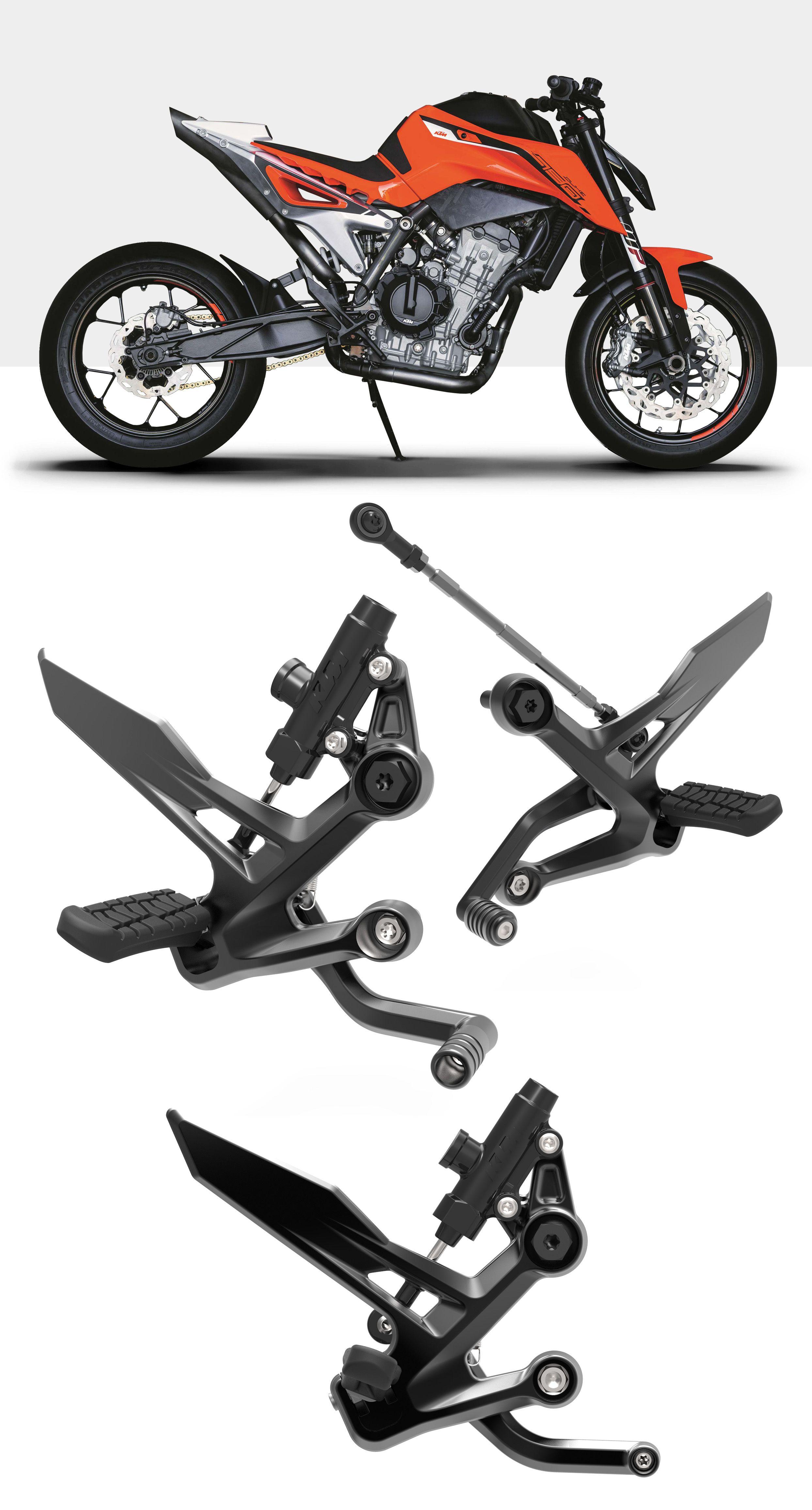 Ktm Foot Pegs Design Concept