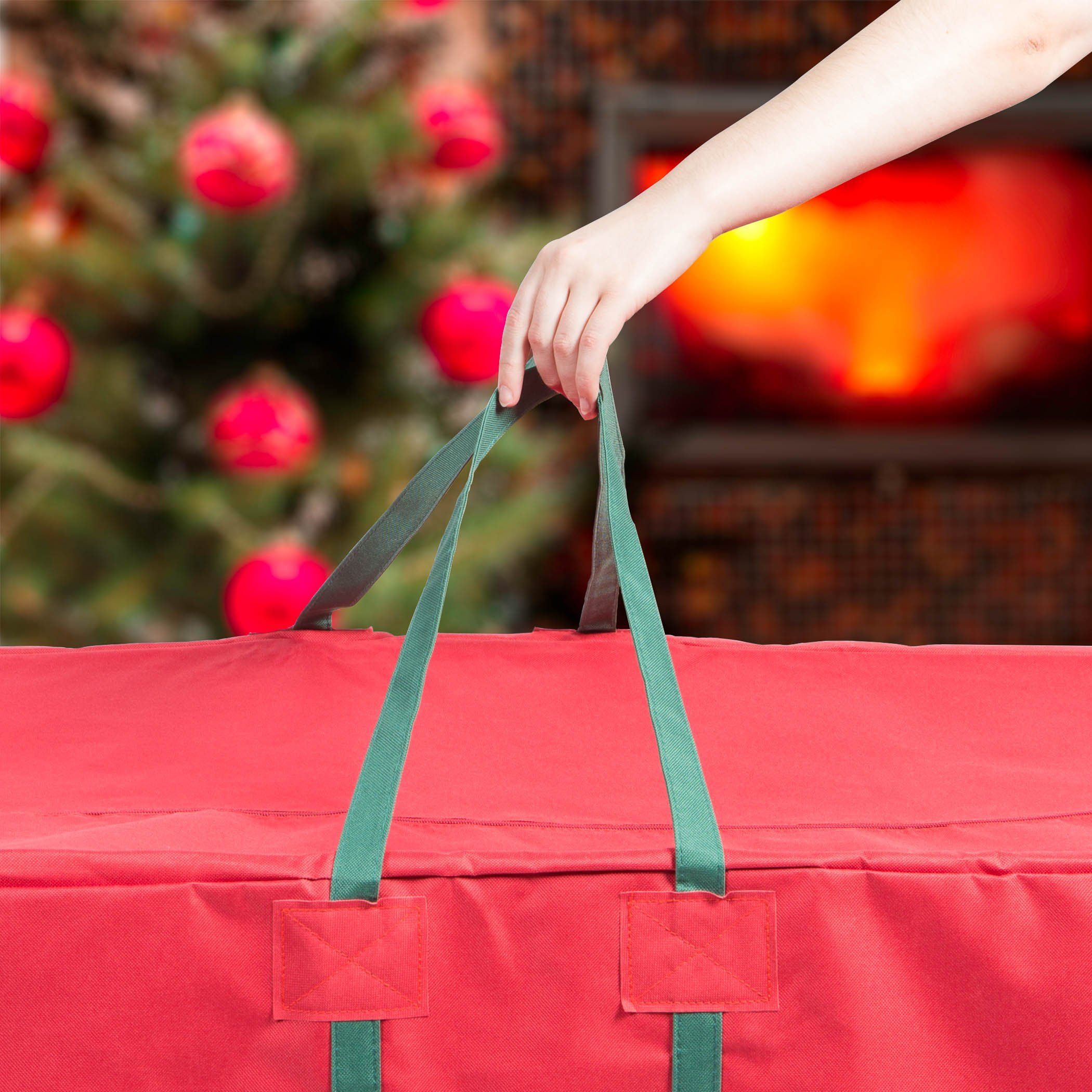 Hold N Storage 58 Christmas Tree Bag Wheels In Red See This Great Product Note Amazon Af Christmas Tree Storage Bag Tree Storage Bag Christmas Tree Storage