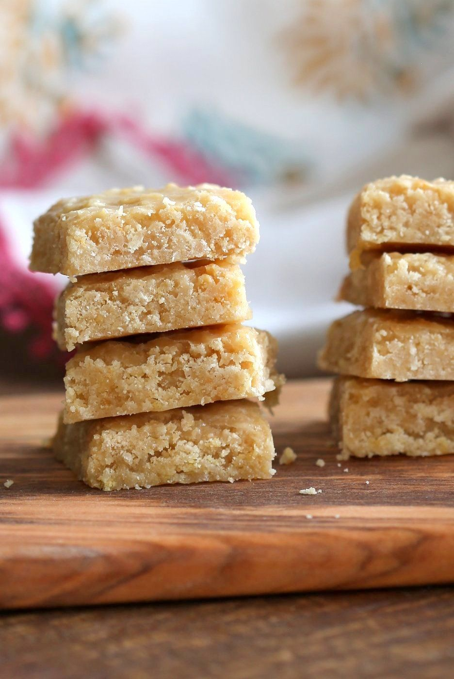 Vegan 7 Cup Burfi Chickpea Flour Coconut Fudge Bars