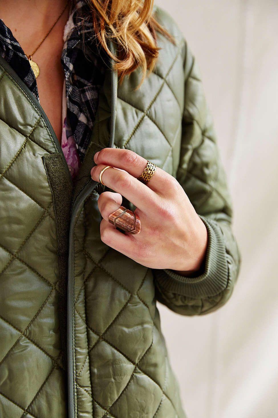 Urban Renewal Belgian Quilted Liner Jacket