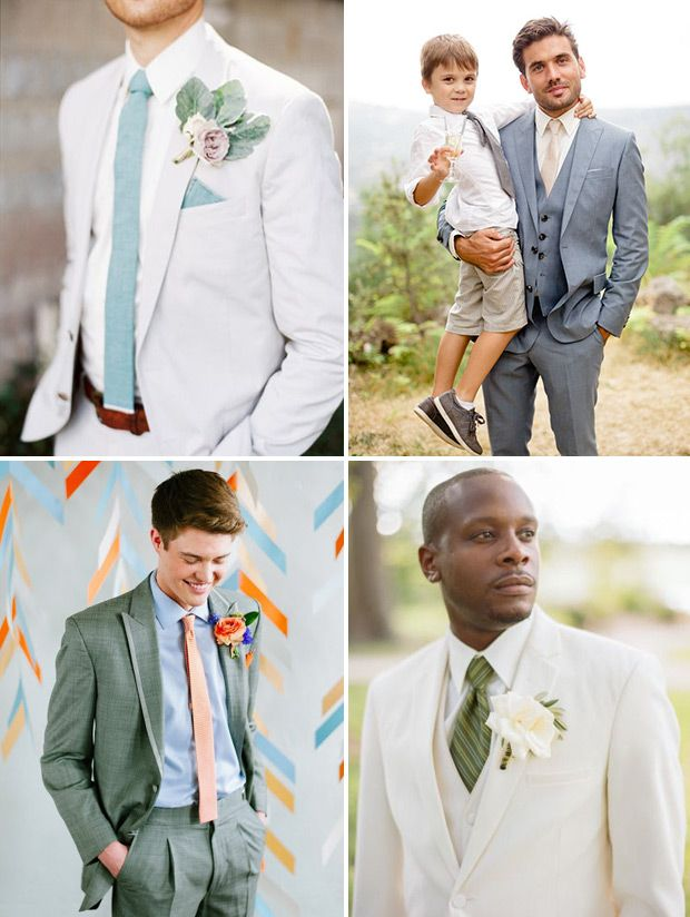 Summer Wedding Suit Ideas - Styling the Groom | Wedding, Summer ...