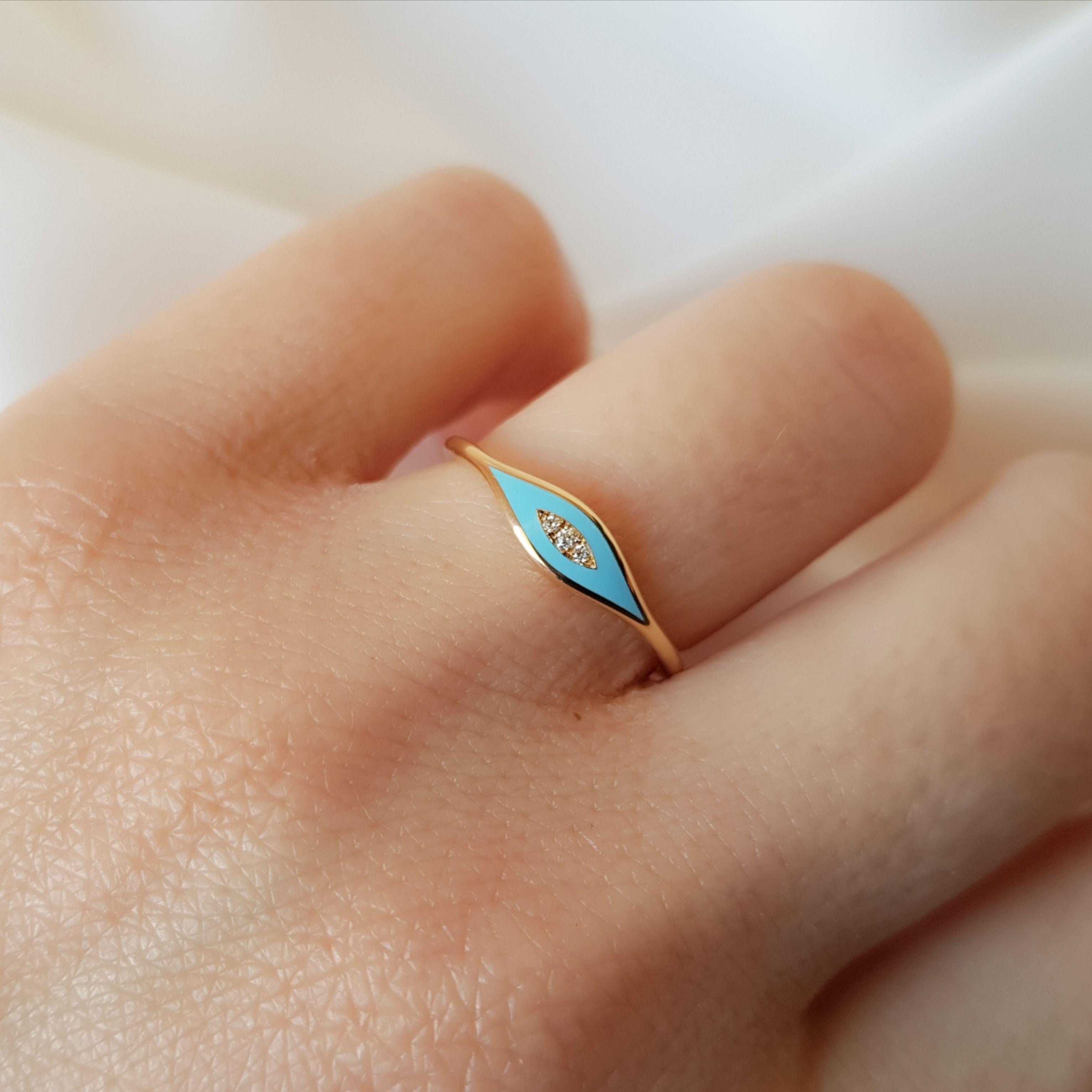 28++ Evil eye ring fine jewelry info