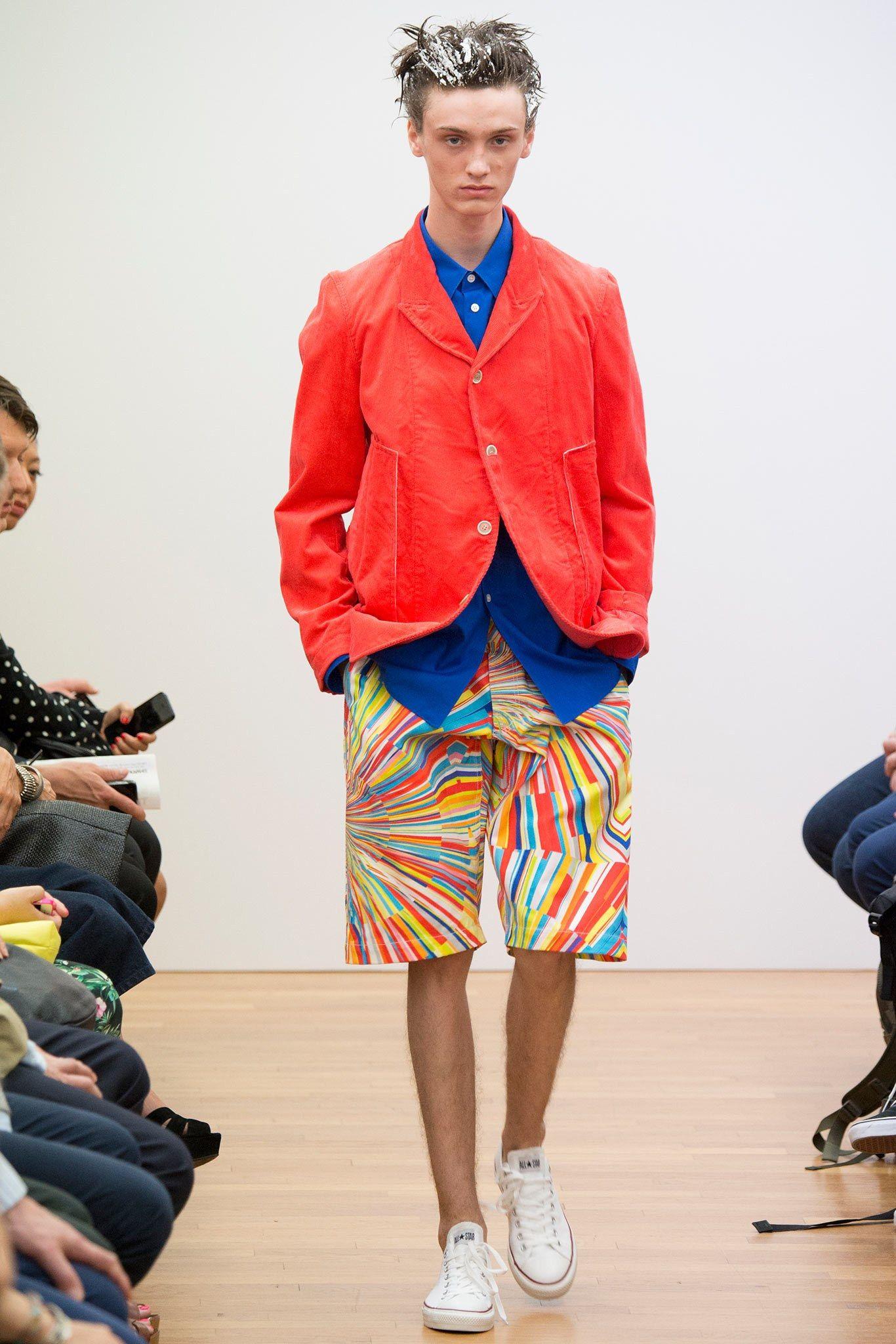Comme des Garçons Shirt Spring 2015 Menswear Fashion Show