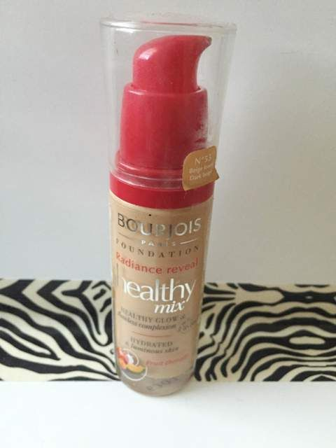 Bourjois Radiance Reveal Healthy Mix Foundation Review Healthy Mix Foundation Bourjois Foundation