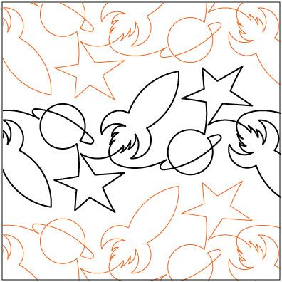 Free Long Arm Quilting Pantographs | Blast-Off-quilting-pantograph-pattern-Lorien-Quilting.jpg