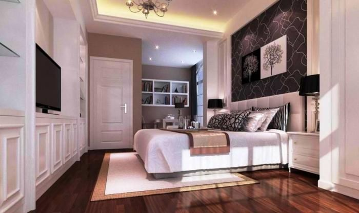 15 Amazing Bedroom Designs With Wood Flooring Rilane Amazing Bedroom Designs White Bedroom Design Bedroom Design