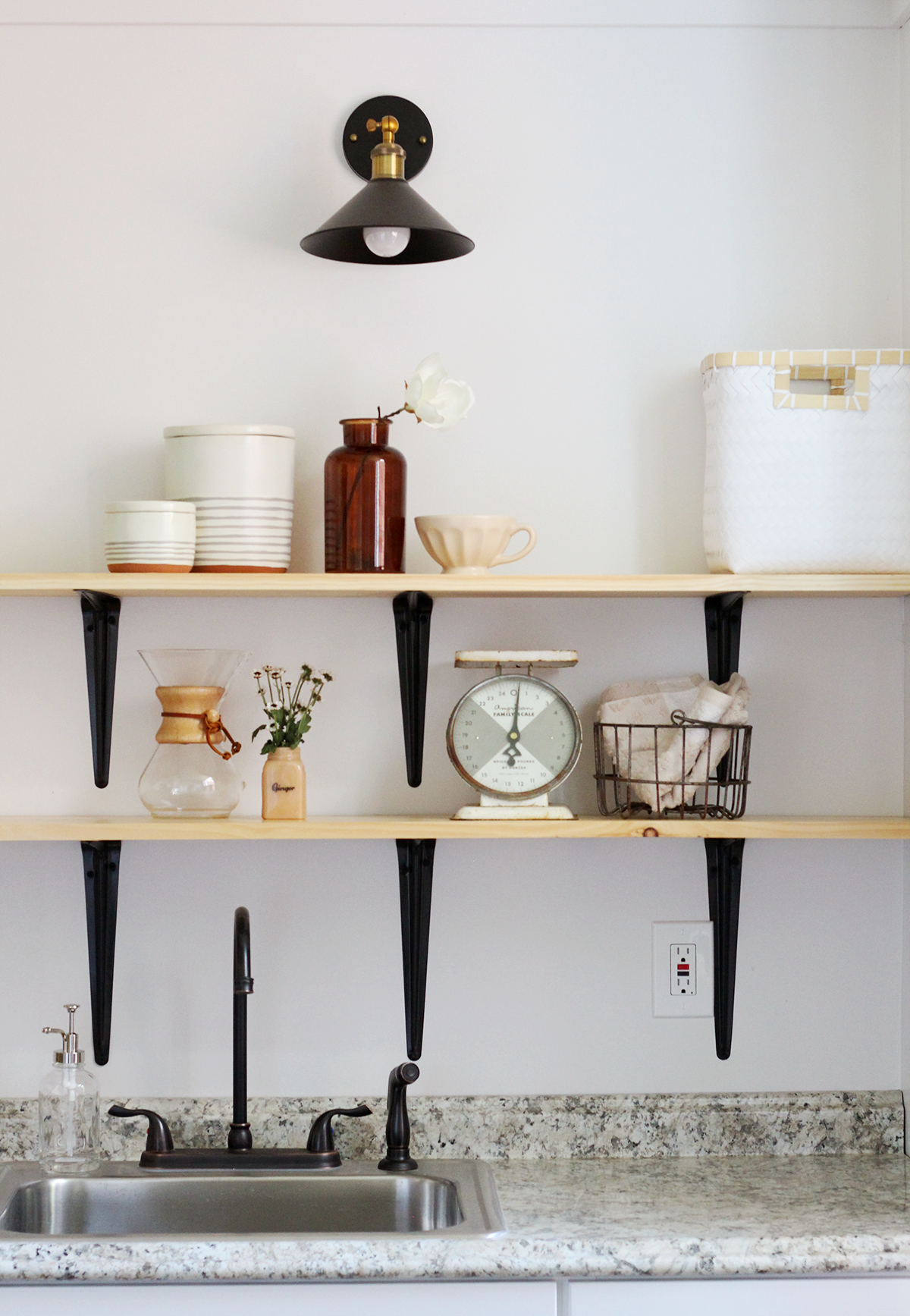 How To Decorate Open Kitchen Shelves Interiors We Love