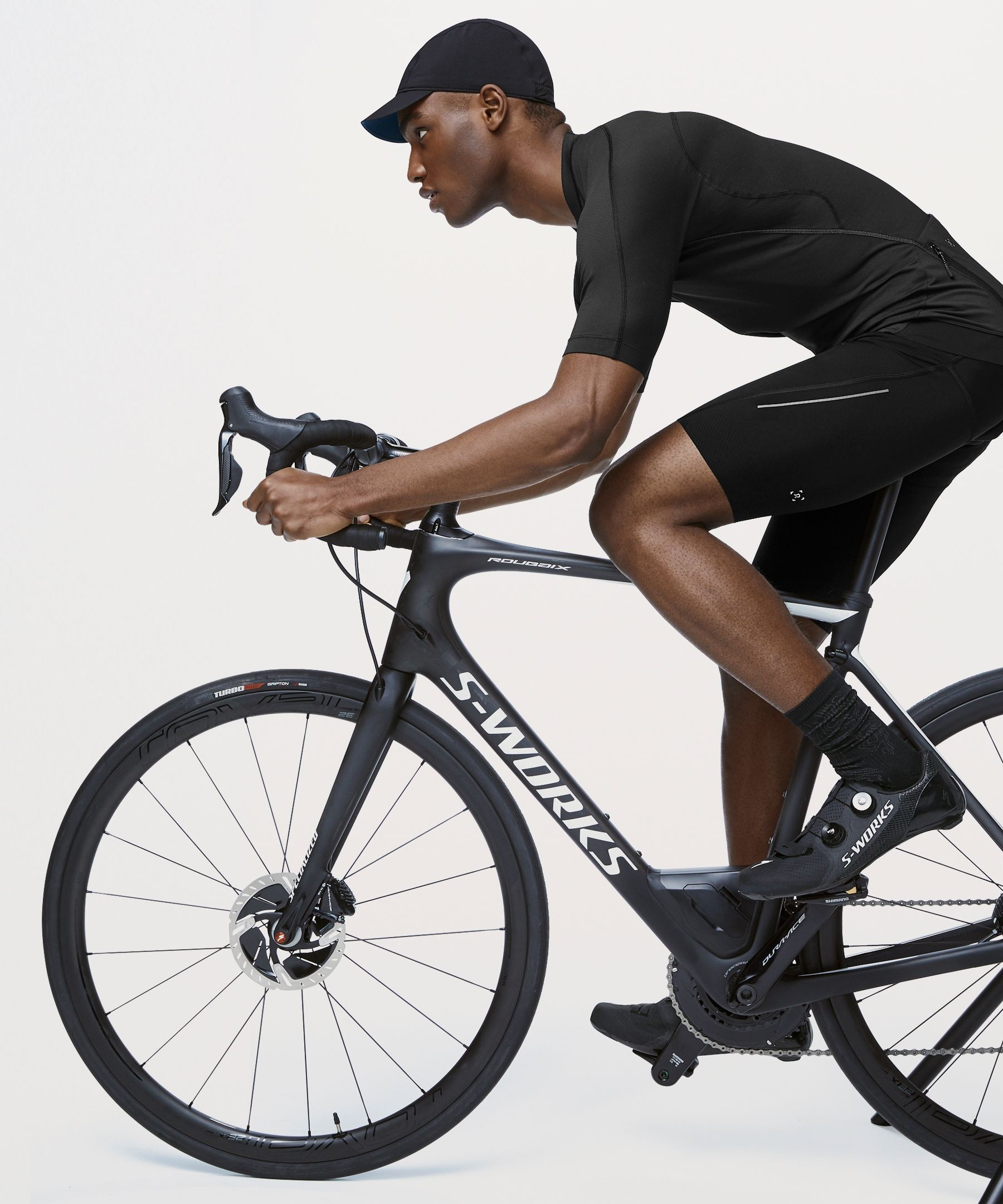 Lululemon Men S City To Summit Cycling Jersey Black Size Xl Lululemon Men Cycling Lululemon