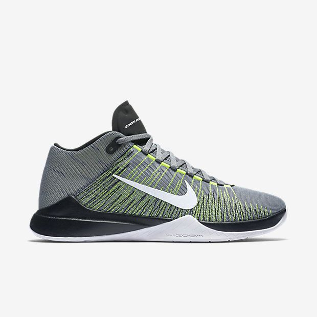 a7e0dab779033 LOCKED-DOWN STABILITY The Nike Zoom Ascention Men s Basketball Shoe  features high-tensile stitching