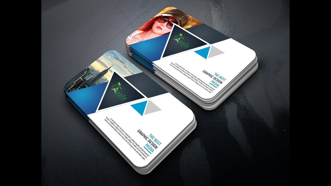 Corporate business card design tutorial in photoshop business card corporate business card design tutorial in photoshop reheart Image collections