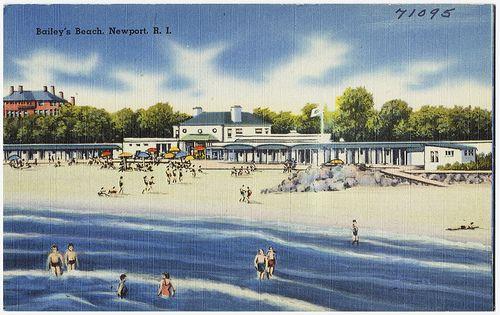 Bailey S Beach Club Newport Ri The