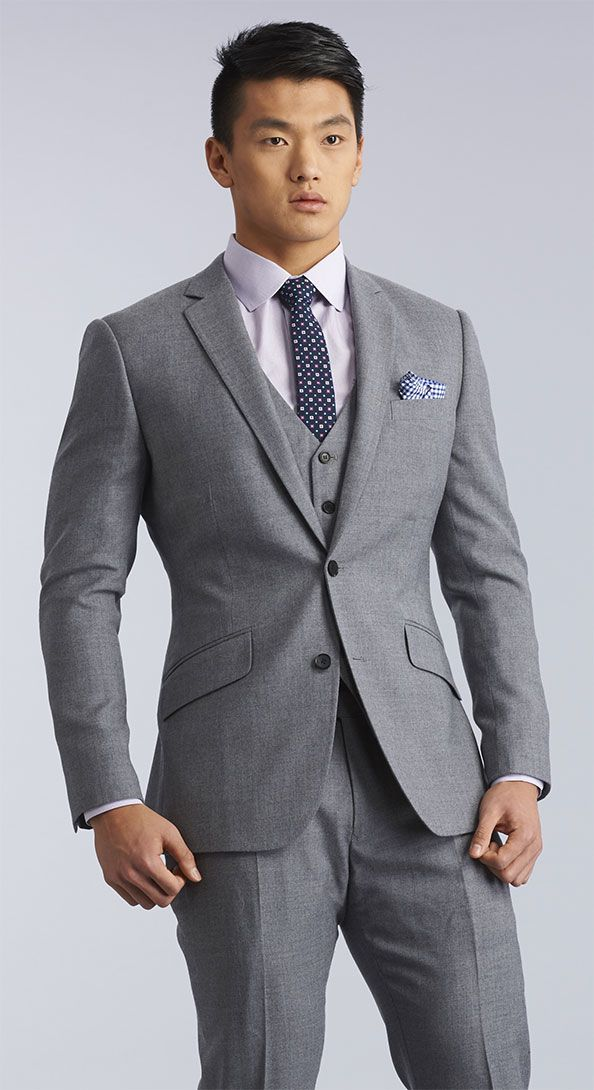 The Quarry Grey Three Piece Suit … | Just for the Groom ...