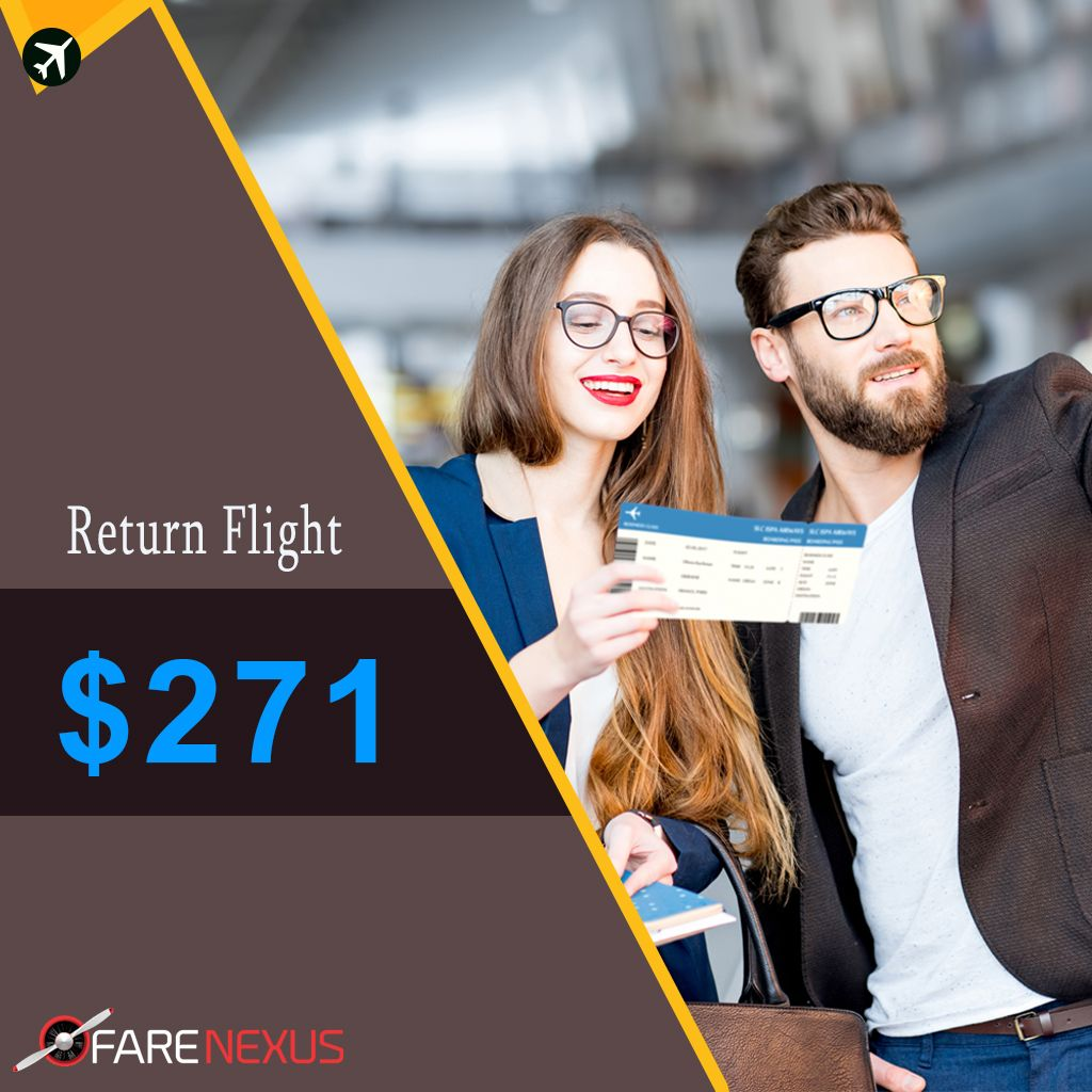 HURRY UP!! Book Return Cheap Flight Ticket if you are in