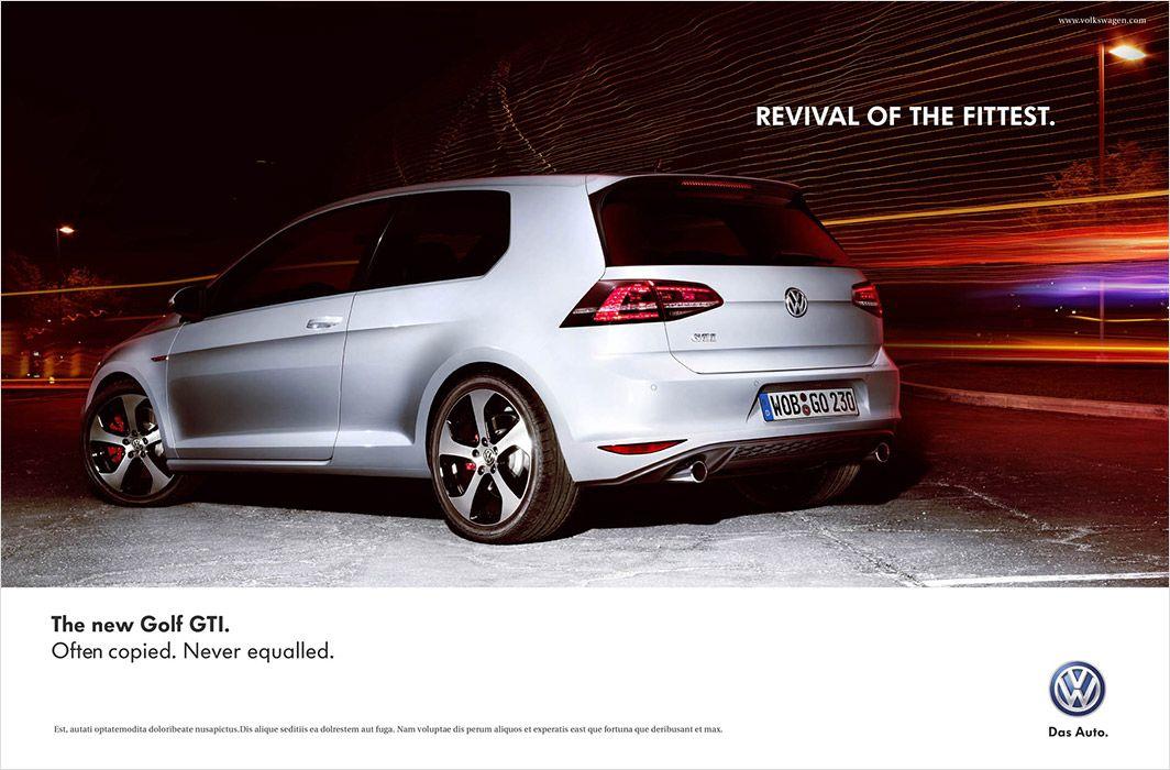 Alex Rank New Work Volkswagen Golf GTI Volkswagen