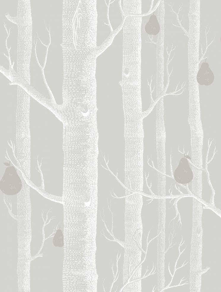 Woods Pears Grey Wht Slvr Kravet Grey And White Wallpaper Wood Wallpaper Cole And Son