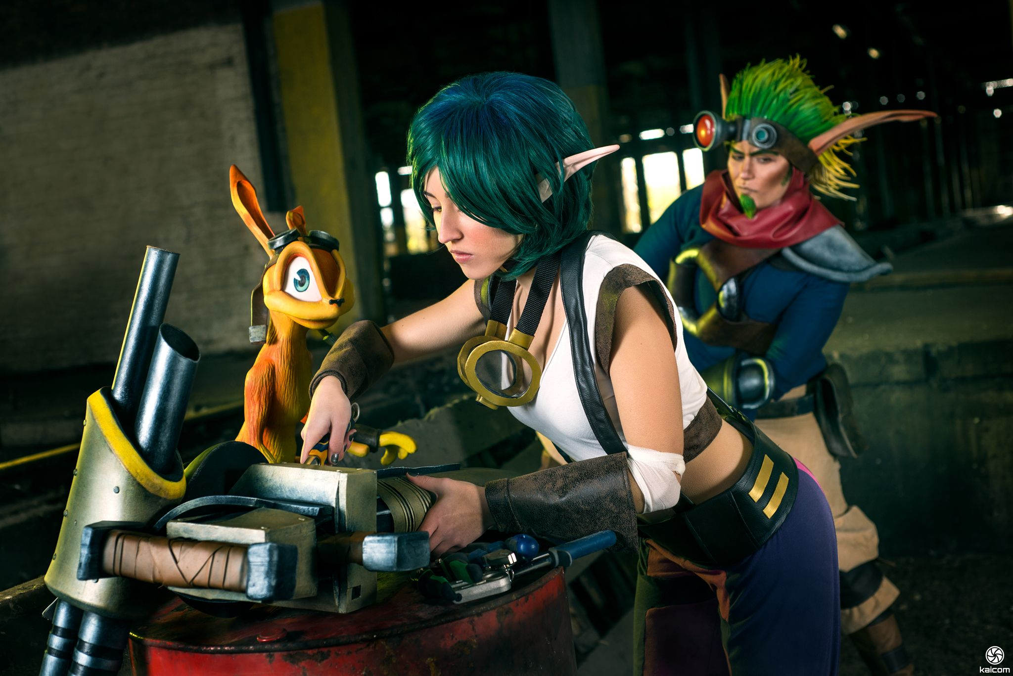 and daxter cosplay Jak keira