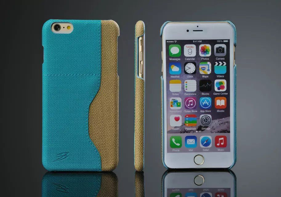 For iPhone 6s 6 Plus Wallet Pu Leather Credit Card Holder Case Back Cover for iPhone 6 6s