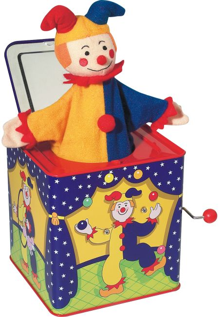 Jack In The Box In 2021 Vintage Toys Jack In The Box Unique Childrens Gifts