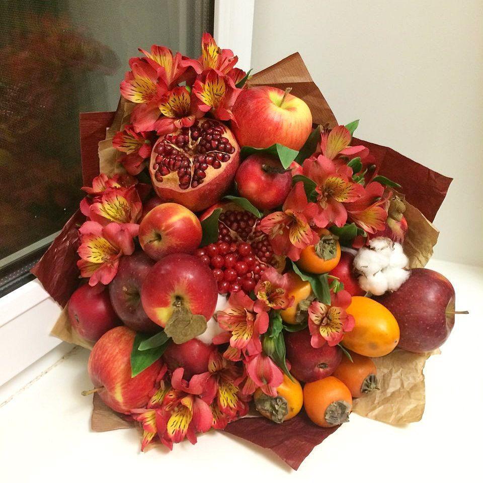 Поздравление фруктовым букетом фото 927