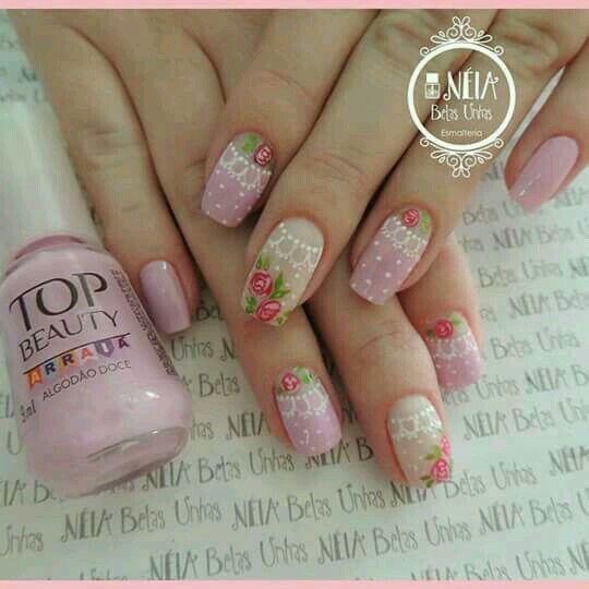Pin by Tatiana on floral nail designs Pinterest