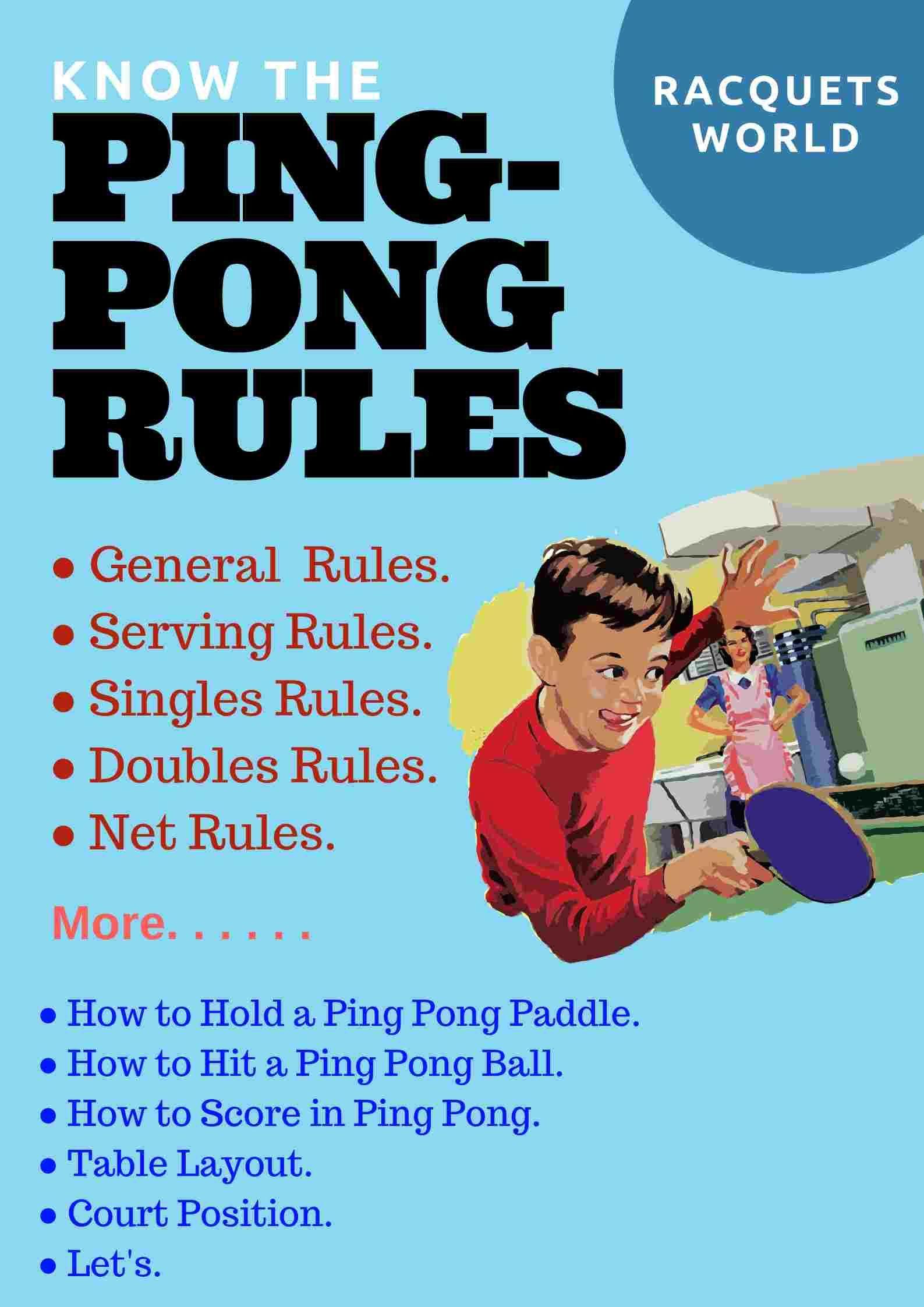 how to play ping pong Ping pong, Ping, Ping pong paddles