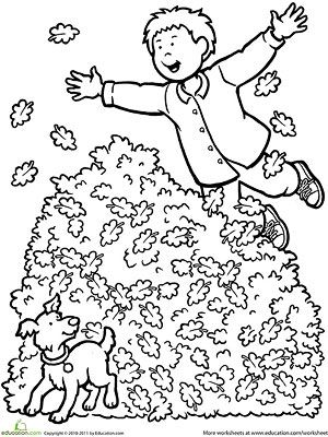 Printable Fall Coloring Pages Fall Coloring Pages Fall Coloring Sheets Leaf Coloring Page
