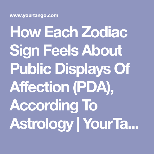 Zodiac Signs Who Love PDA (And The Ones Who Hate It), Ranked | Virgo