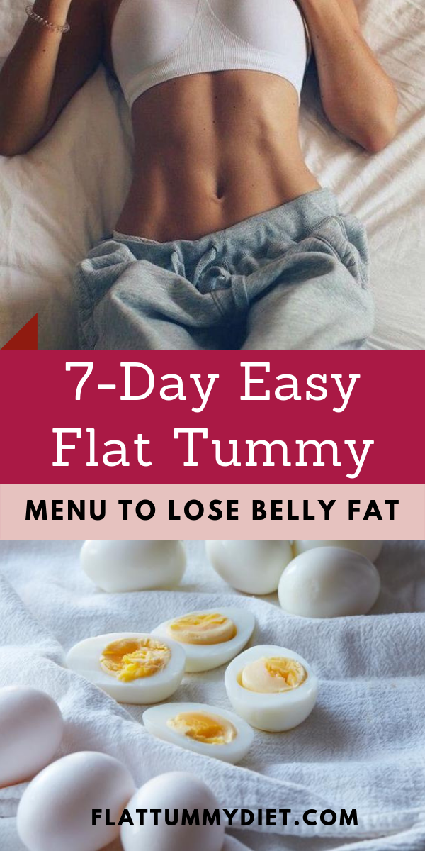 How to Lose Belly Fat In 1 Week: 7-Day Belly Fat Diet Plan #diet