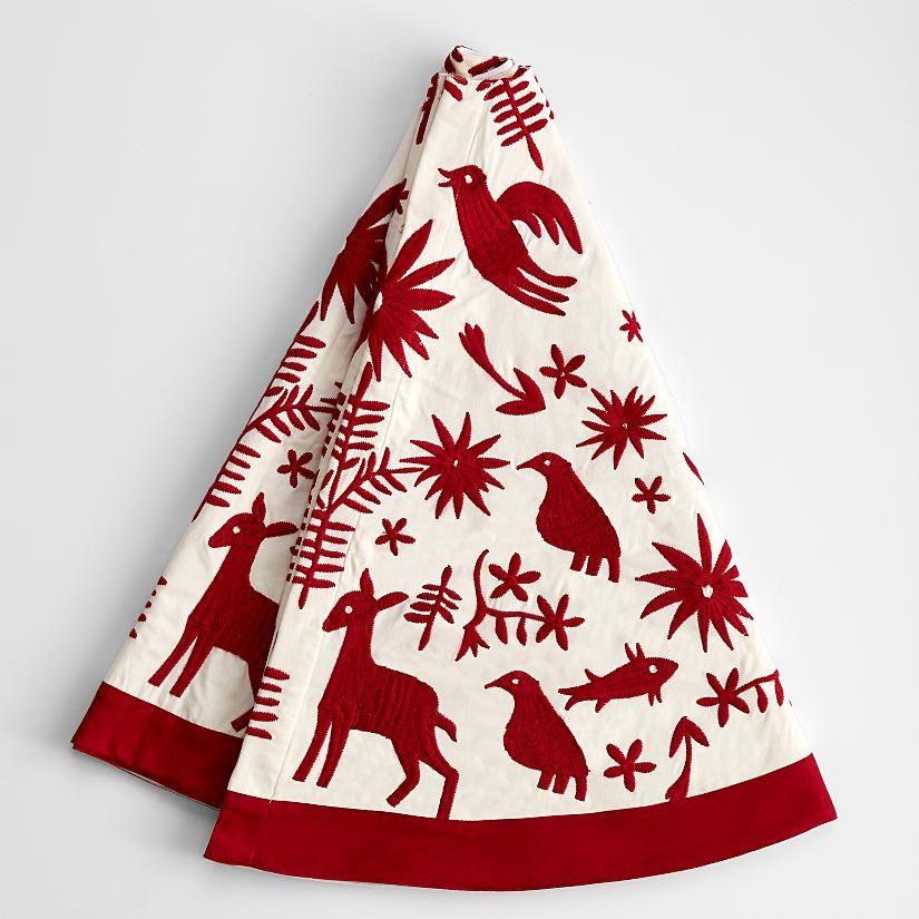 Otomi Christmas Tree Skirt From Redenvelope