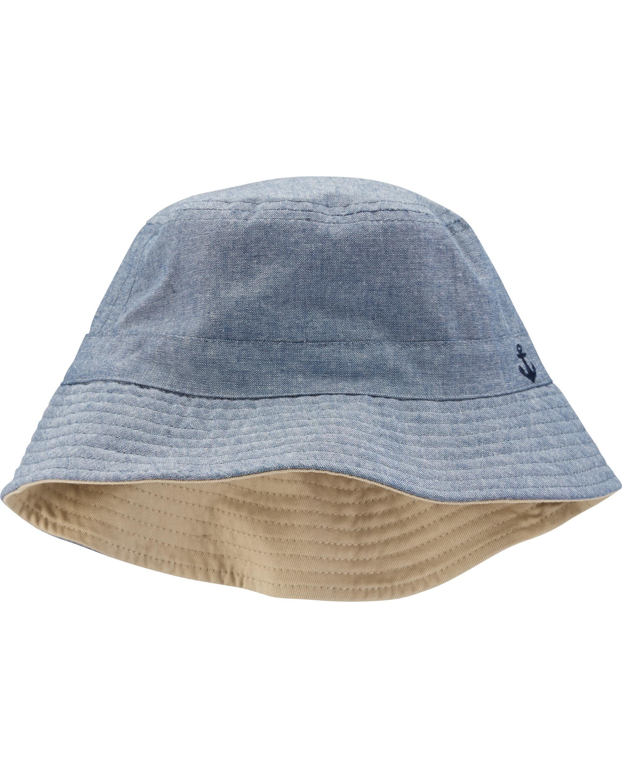 c019661fcb2 Toddler Boy Reversible Bucket Hat