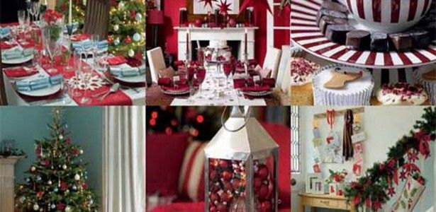 Inspirational Christmas Decoration Blog ChrissyMusic Ideas for Eye Catchy Home Interior Wallpaper Picture Of Elegant Christmas Themed Home Interior Design With Red White Accessories Feats Pine Leaves Arrangement And Corner Tree Feats Sleek Ornaments Picture. Christmas Photo