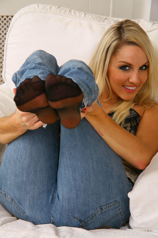 Long Nails Tickling Feet