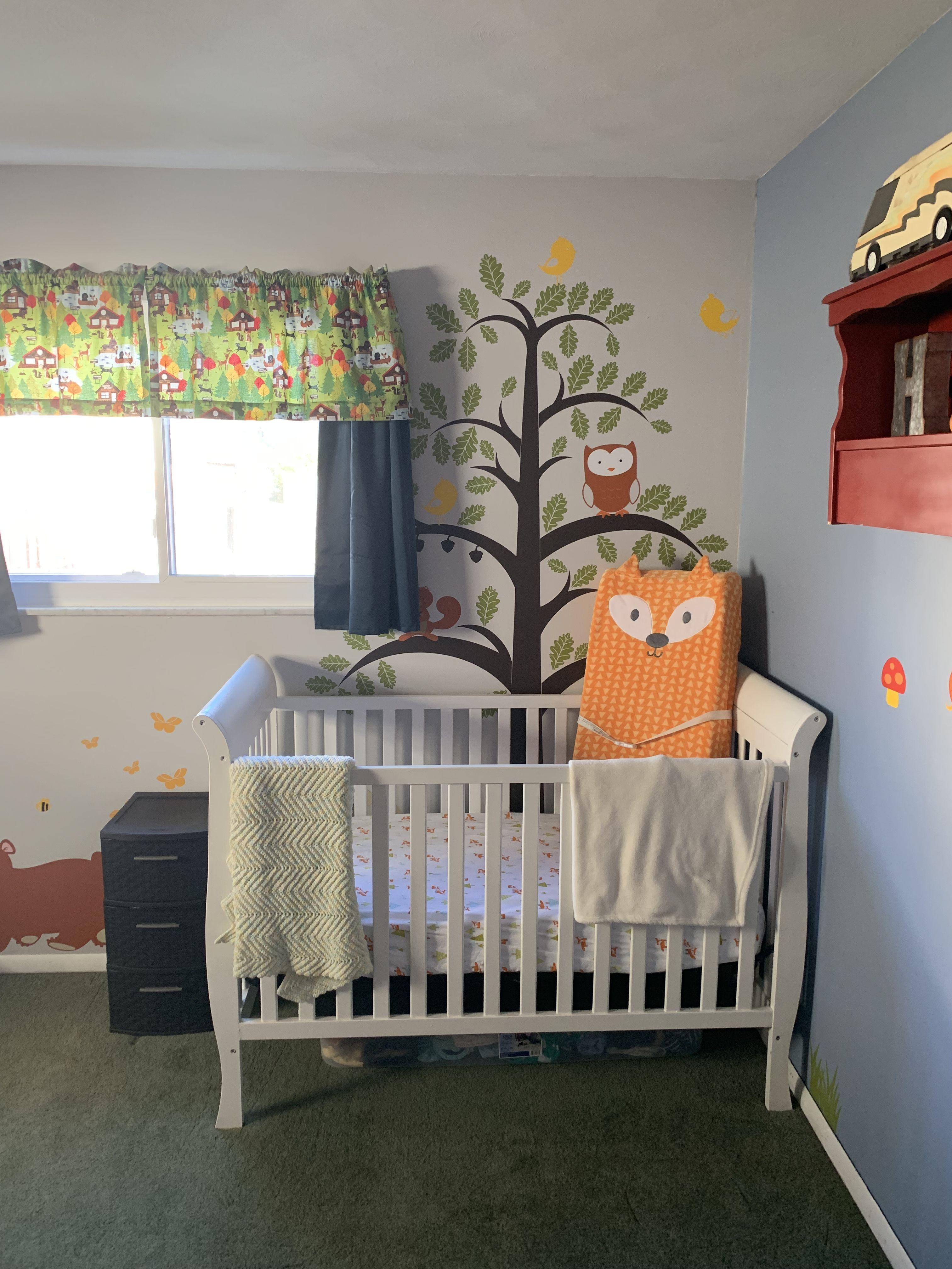Woodland Themed Baby Boy Nursery Boy Nursery Nursery Baby Boy