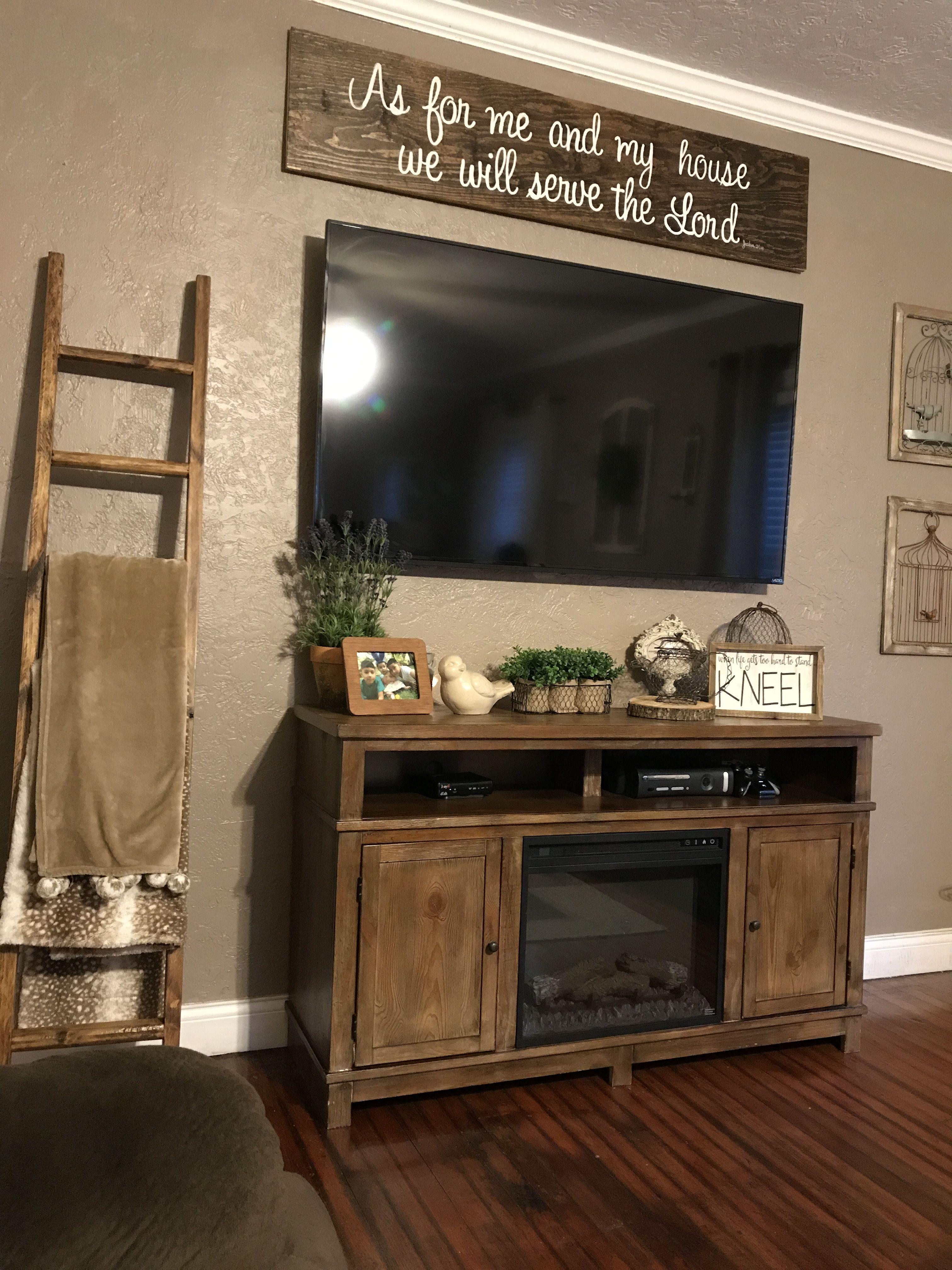 Diy Sign Living Room Remodel Tv Decor Farm House Living Room