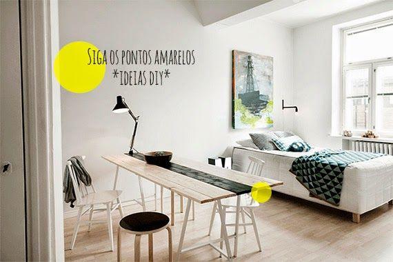 Um apartamento *muito* pequeno, clean, e cheio de ideias diy