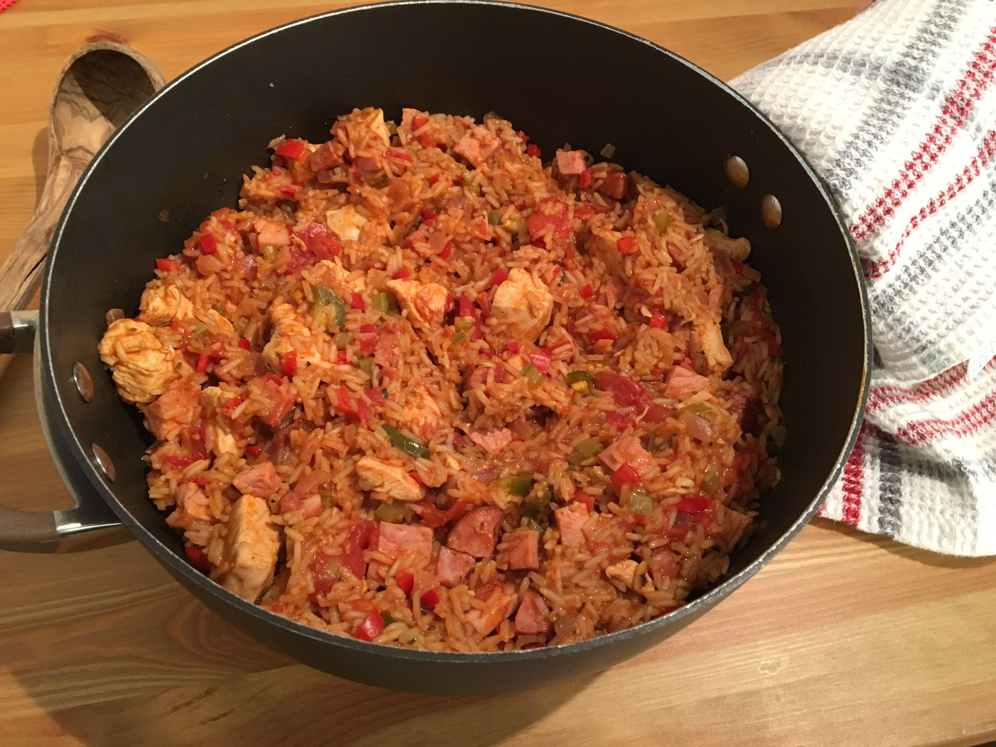 Chicken ham sausage jambalaya you dont have to go to louisiana to great food to fit your mood forumfinder Images