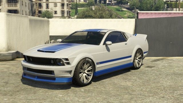 The Vapid Dominator Based On The 2012 Ford Mustang 2012 Ford